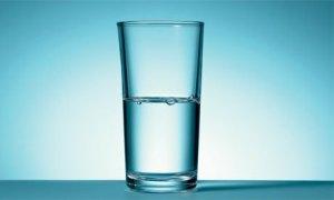 Half-empty glass