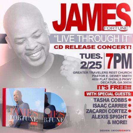 James Fortune Release Concert