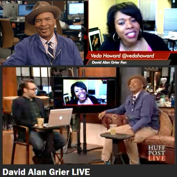 Veda Howard and David Alan Grier