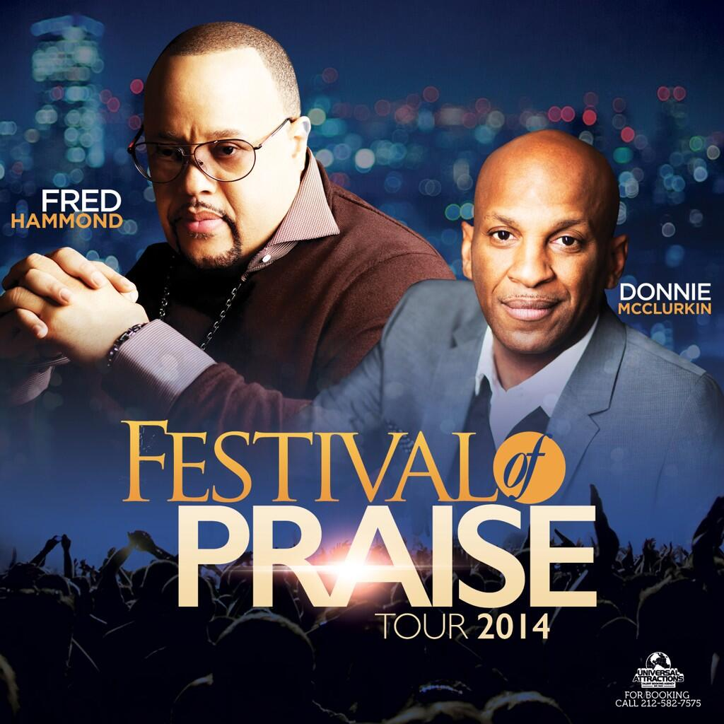 Fred Hamond & Donnie McClurkin Tour