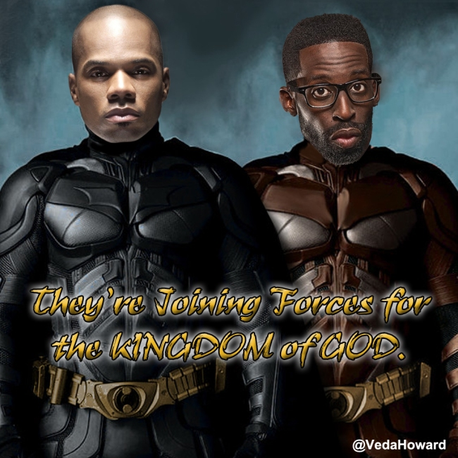 Kirk Franklin and Tye Tribbett