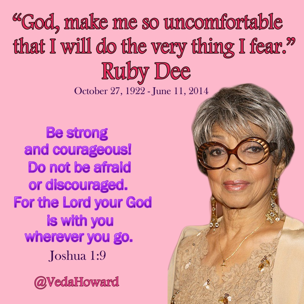 Ruby Dee Quote