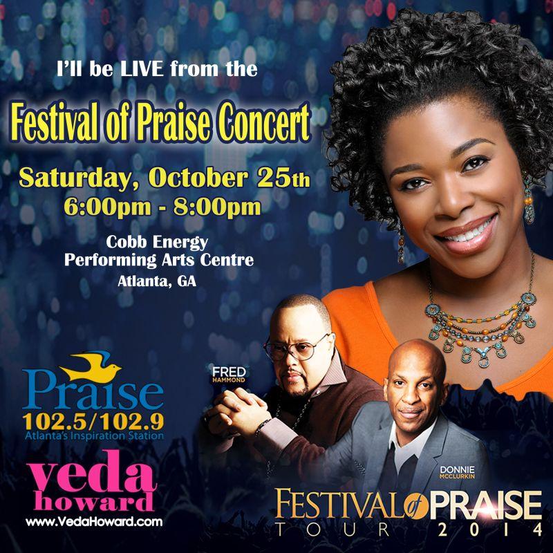 Festival of Praise- Veda Howard