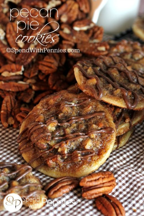 Pecan Pie Cookies Recipe