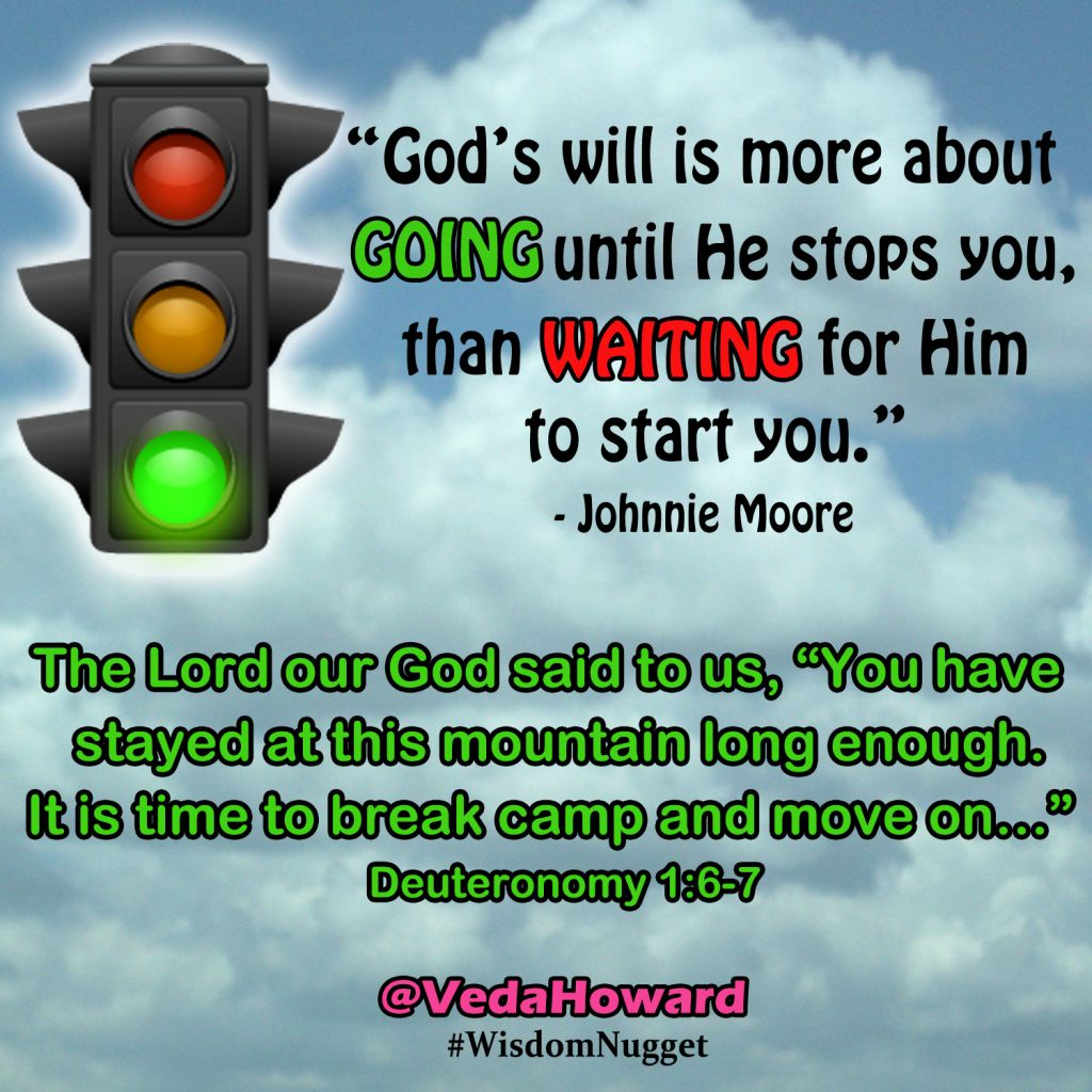 Veda Howard- Green Light quote