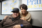 Fred Hammond Meet & Greet at Praise 102.5/102.9 [PHOTOS]