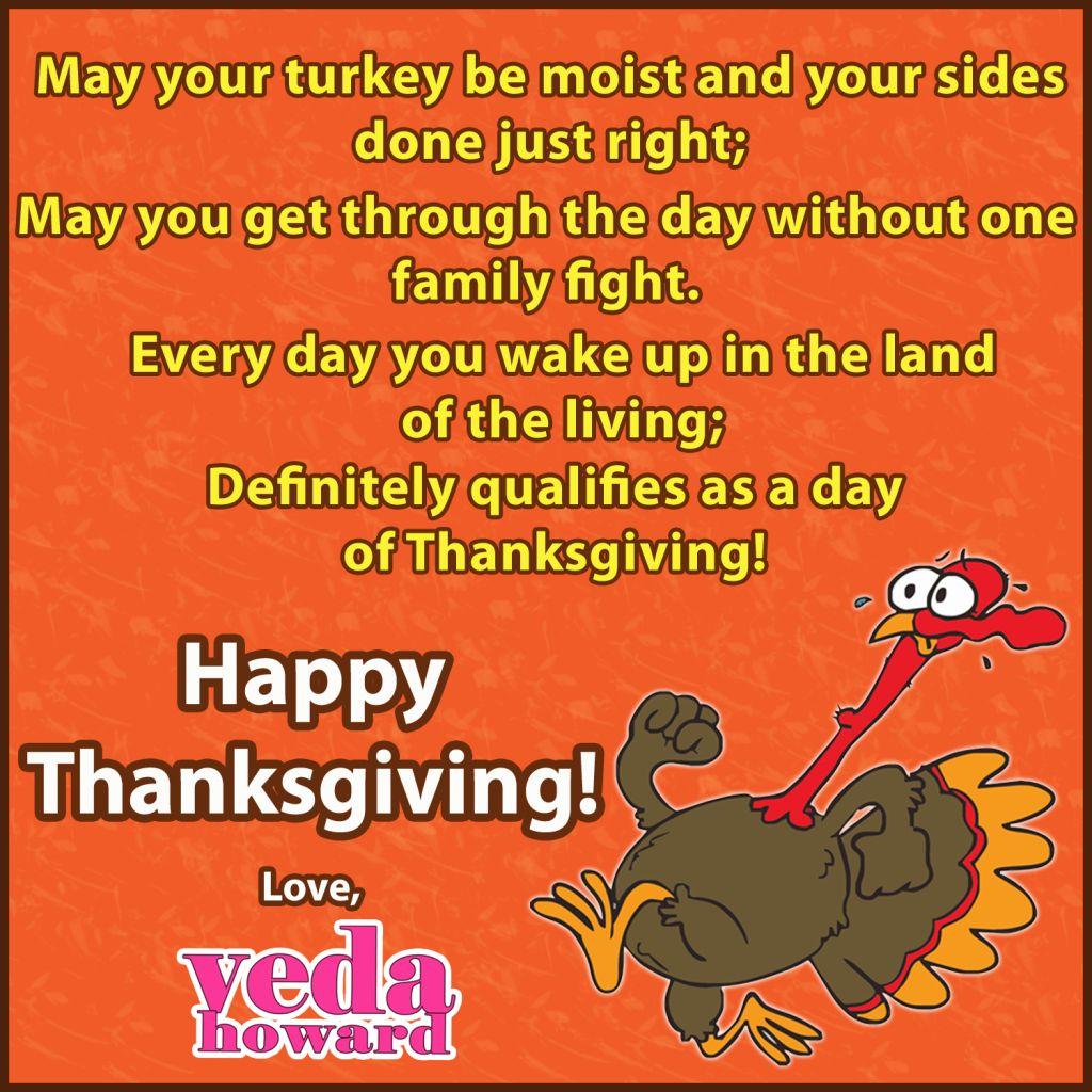 Veda Howard- Thanksgiving Poem