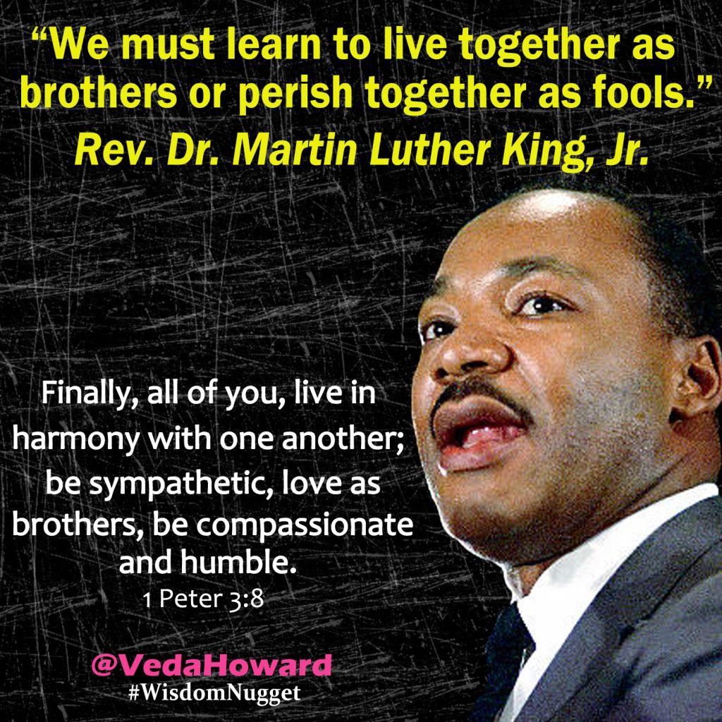 MLK Quote- Veda Howard