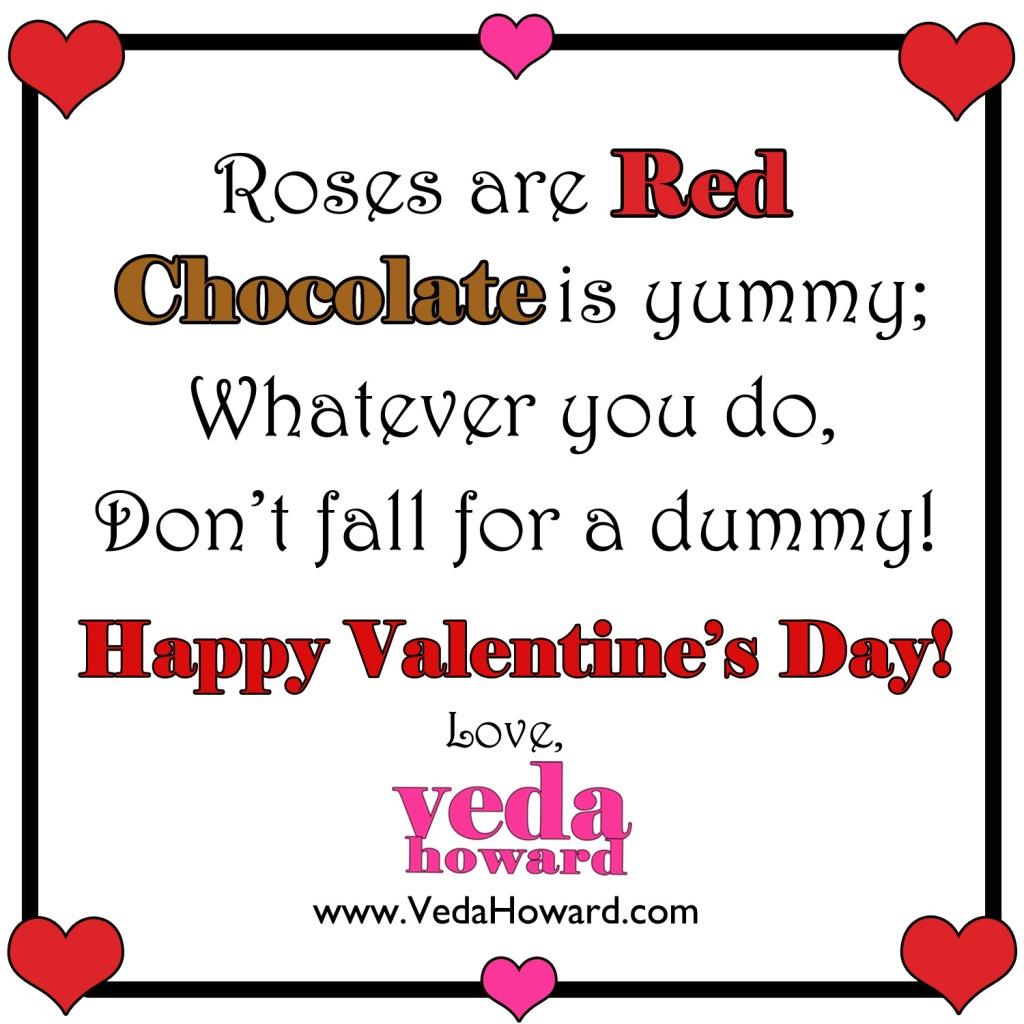 Veda Howard- Valentines Poem 2015