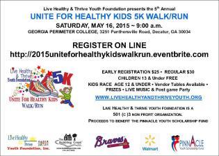 Unite for Healthy Kids 5K