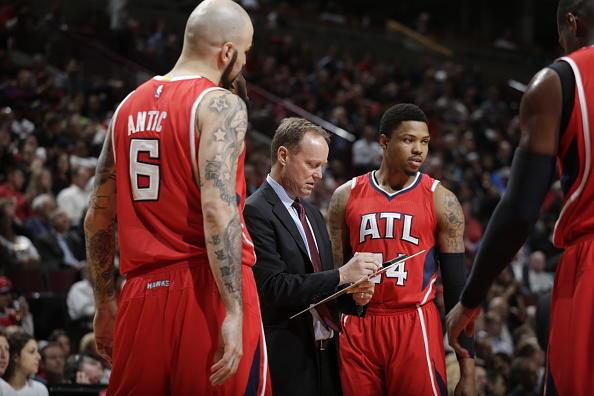 Hawks coach Mike Budenholzer