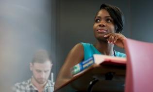 Black Women at Desk