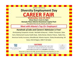 Annual Diversity Employment Day Career Fair