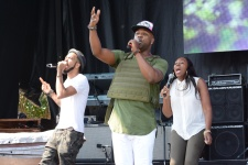 VaShawn Mitchell Praise in the Park 2015