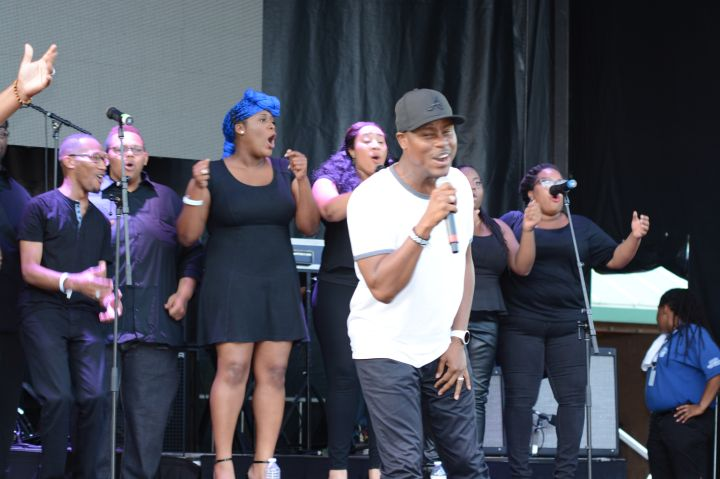 Charles Jenkins Praise in the Park 2015