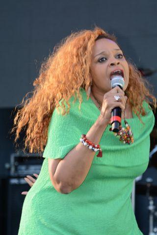 Karen Clark Sheard Praise in the Park 2015