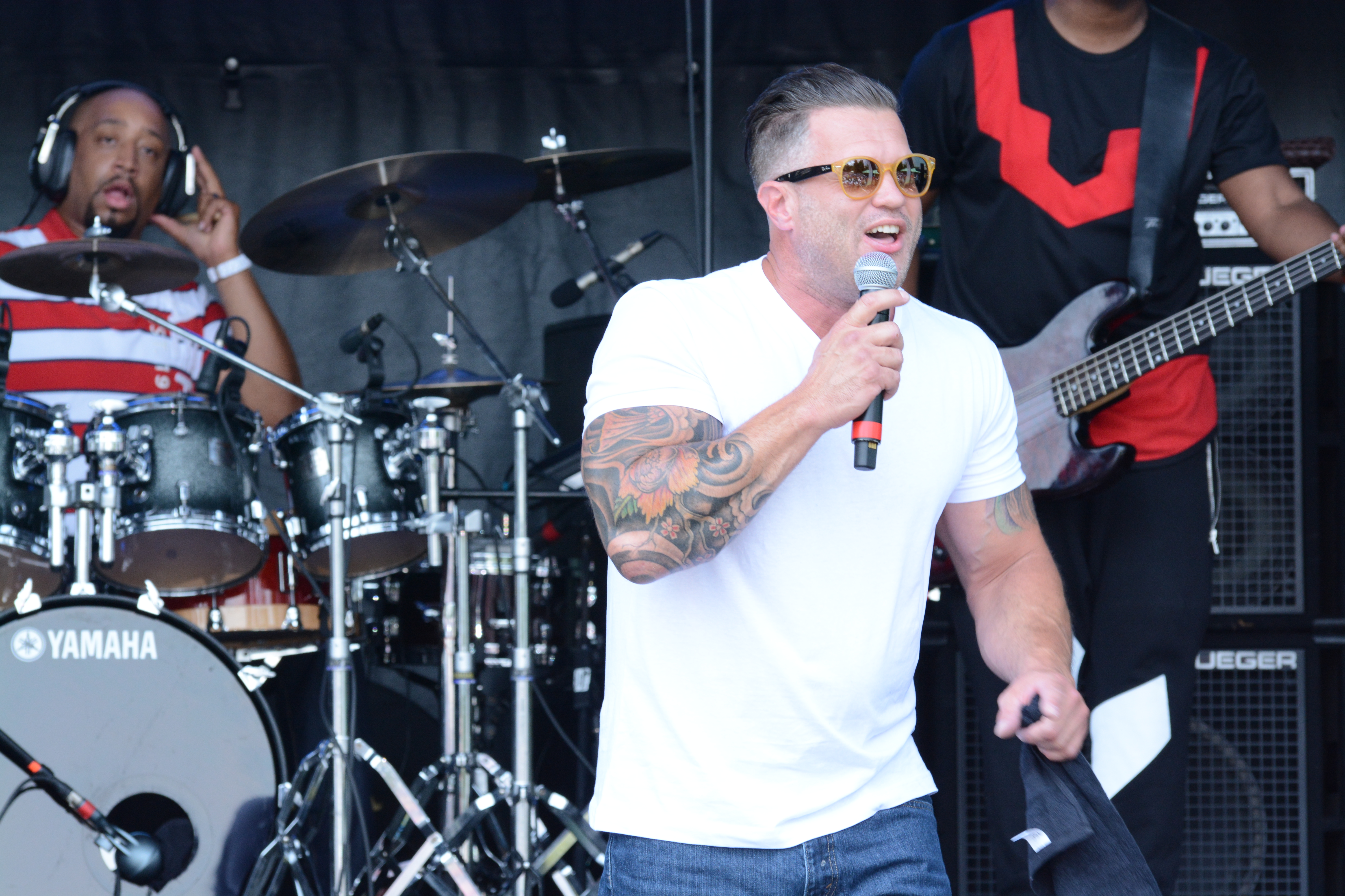 Wess Morgan Praise In The Park 2015
