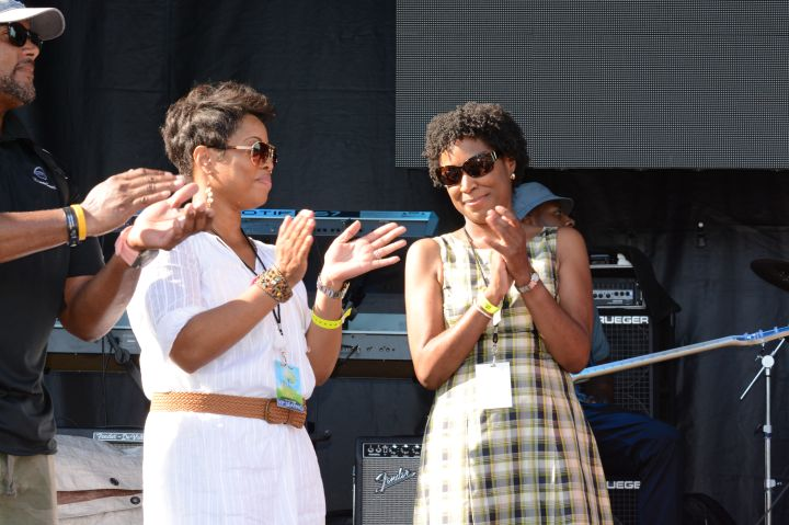 Judge Glenda Hatchett Praise in the Park 2015