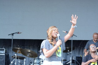 Casey J Praise In The Park 2015