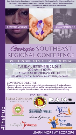 Georgia Southeast Regional Conference On Domestic Violence Child Sexual Abuse & Human Trafficking