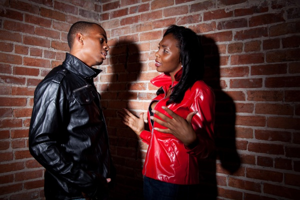 African American Couple Conflict