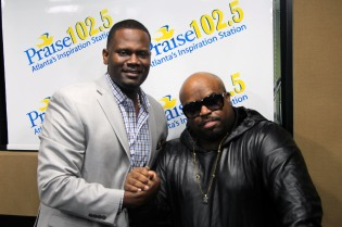 Ceelo Green with KD Bowe