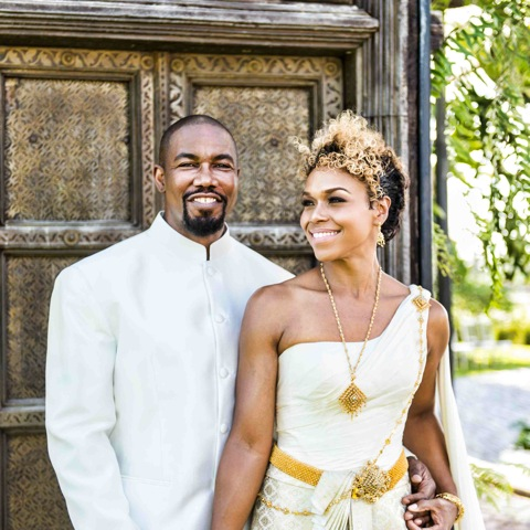 Michael Jai White Weds in Thailand