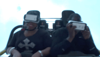 Six Flags Over Georgia VR Coaster