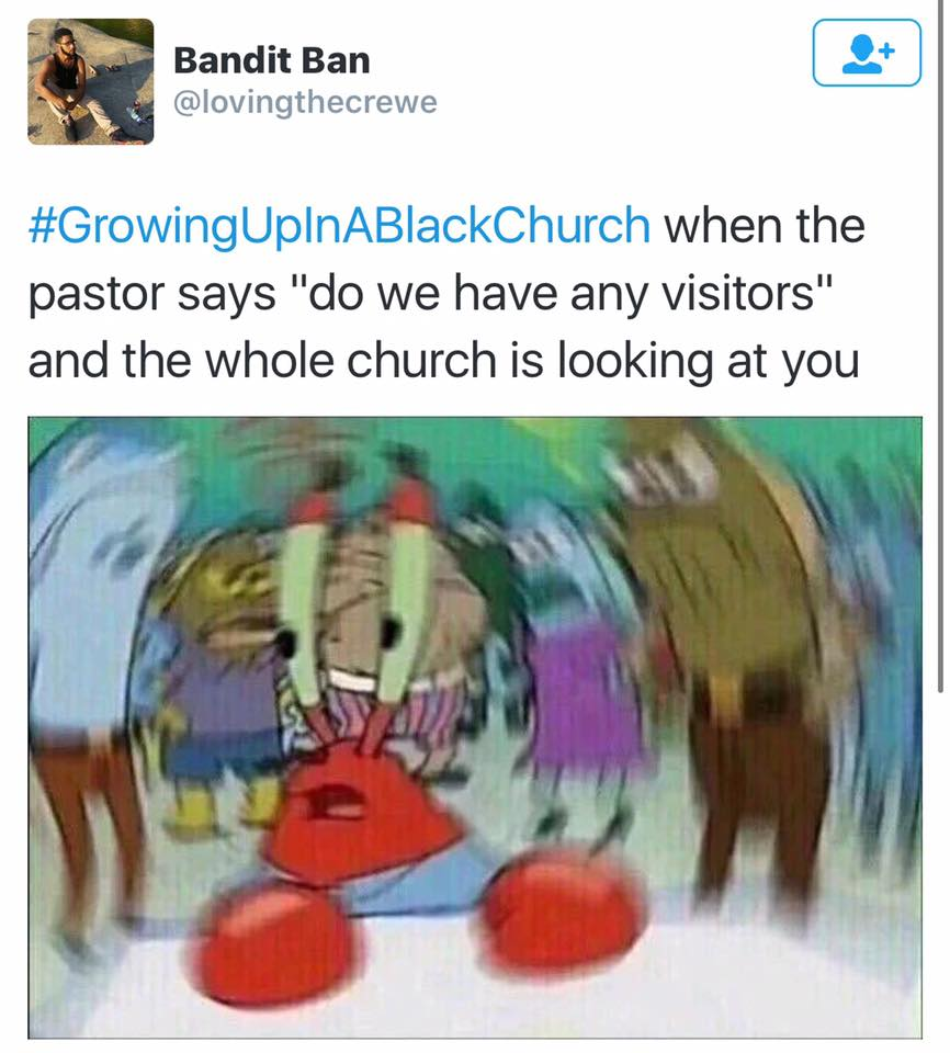 Growing Up In A Black Church