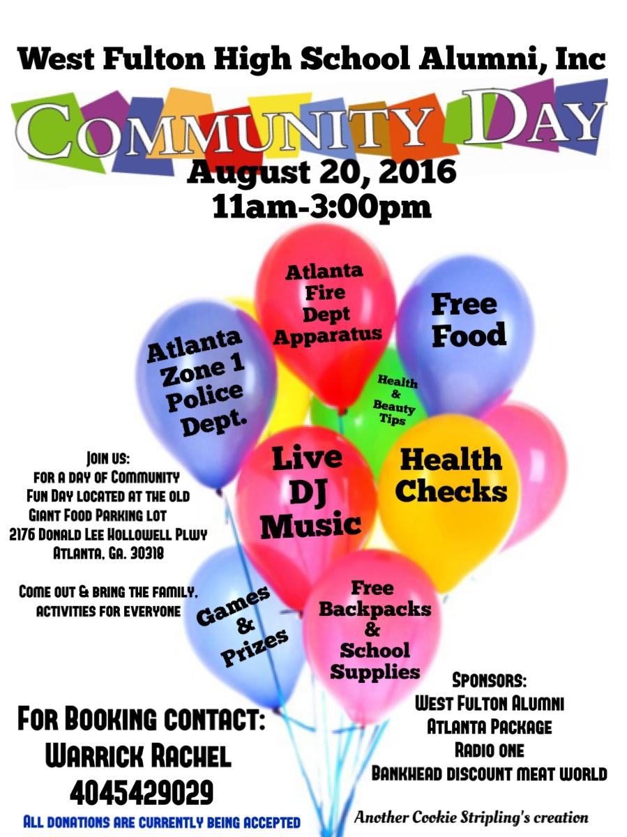 West Fulton High School Alumni Community Day
