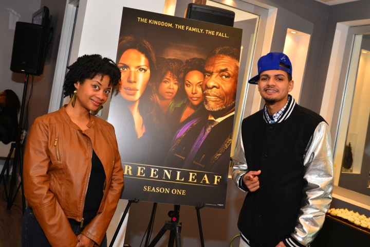 "Deborah Joy Winans Hosts ""GREENLEAF"" DVD Celebration 1"