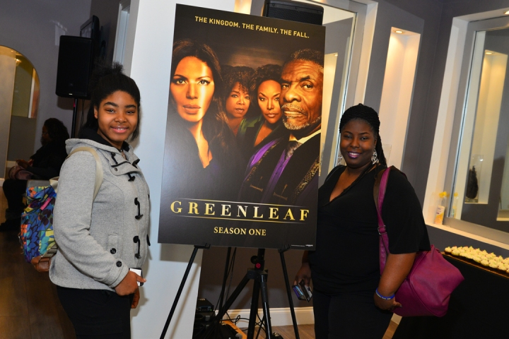 "Deborah Joy Winans Hosts ""GREENLEAF"" DVD Celebration 17"