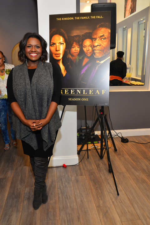 "Deborah Joy Winans Hosts ""GREENLEAF"" DVD Celebration 19"