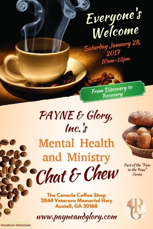 Mental Health And Ministry Chat And Chew