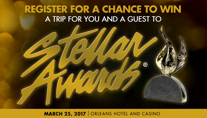 WOW 2017 Stellar Awards FLYAWAY SWEEPSTAKES