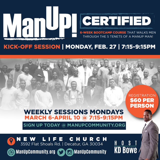 ManUP! Certified With KD Bowe - Client Provided ManUP! Community