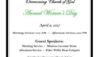 Saint Stephen Annual Women's Day