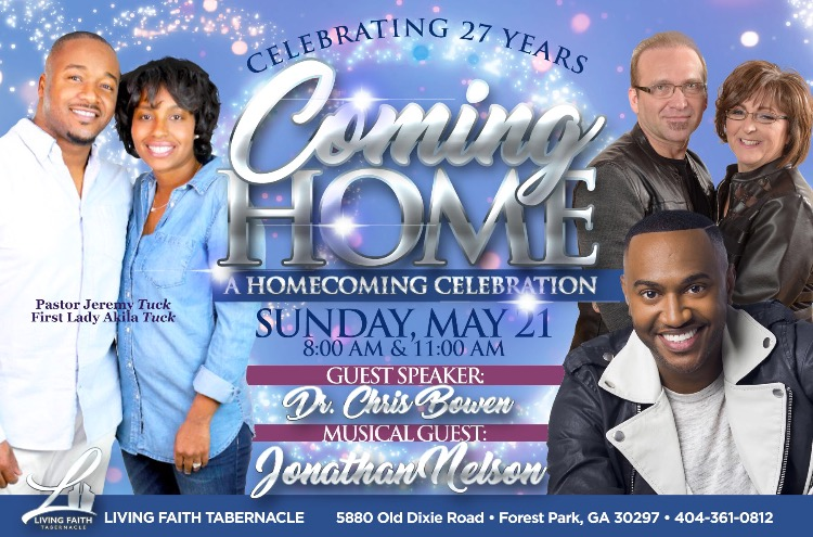 Coming Home: A Homecoming Celebration