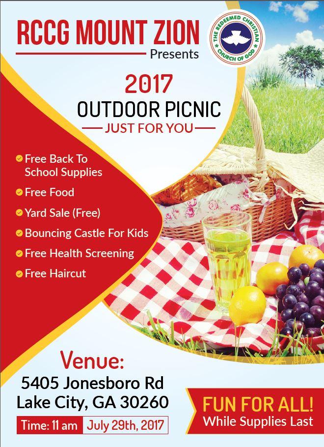 RCCG Outdoor Picnic 2017
