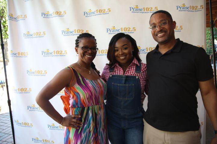 PITP Meet and Greet Jekayln and CeCe Winans