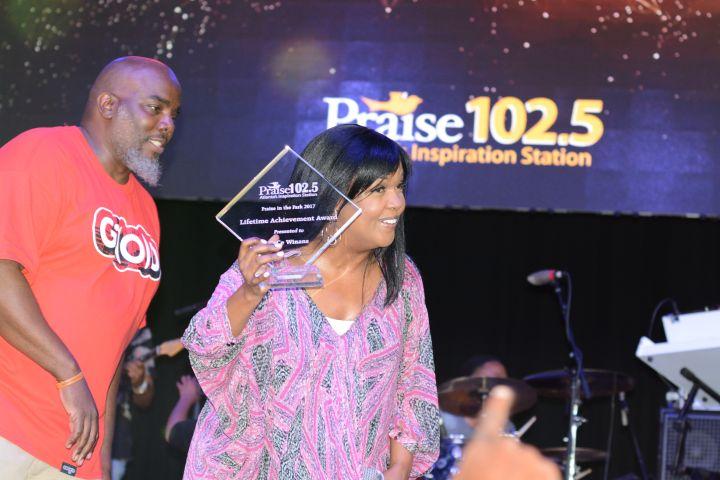 CeCe Winans Praise In The Park 2017