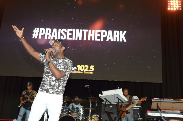 Earnest Pugh Praise In The Park