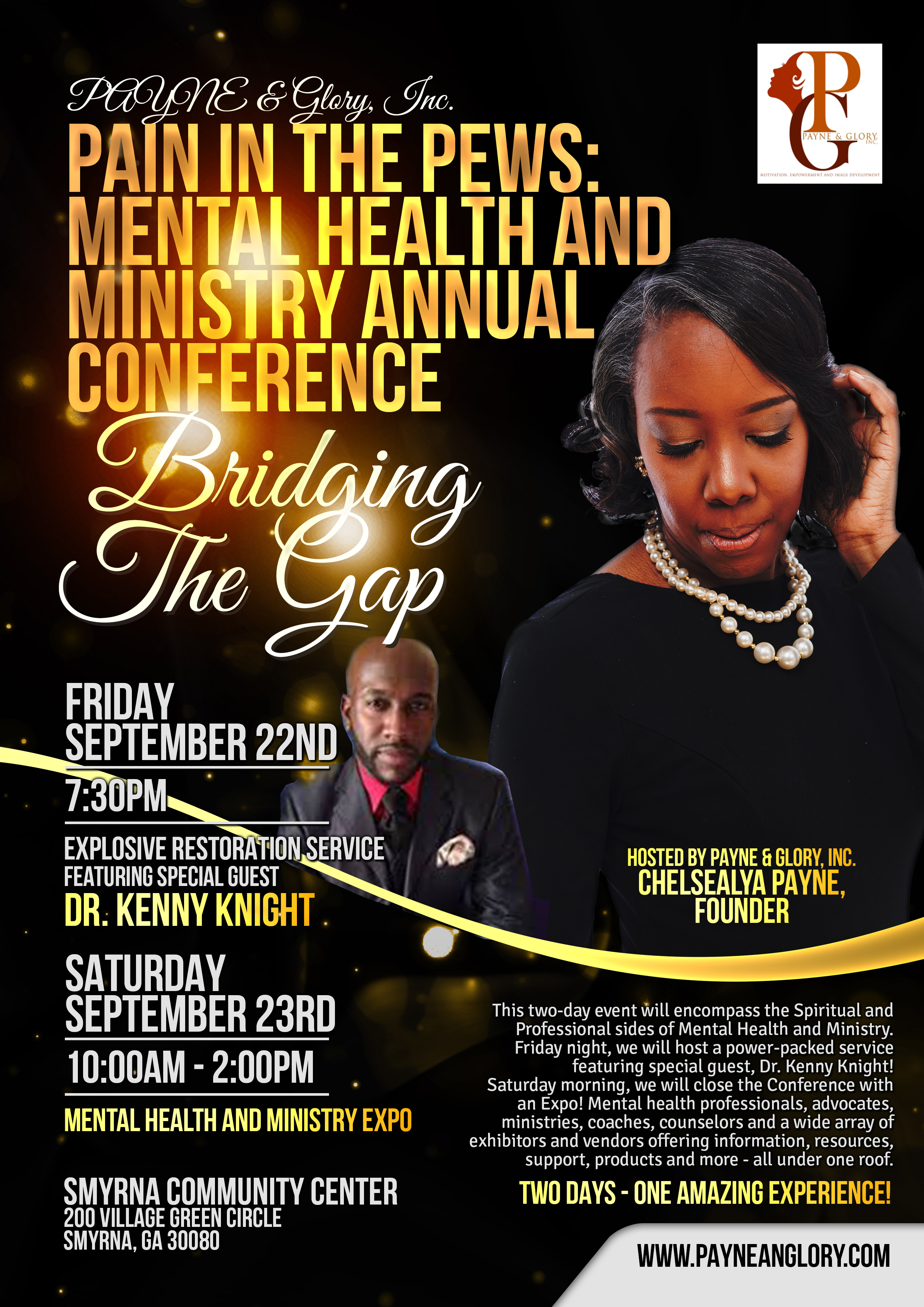 Pain in the Pews Mental Health And Ministry Annual Conference