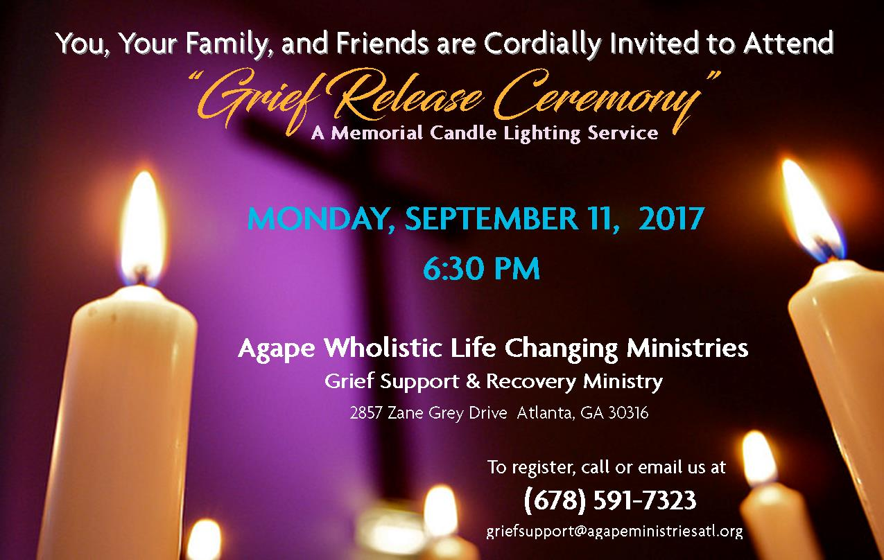 Grief Release Ceremony
