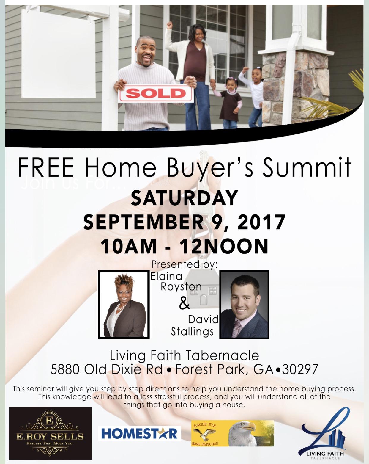 Free Home Buyer's Summit