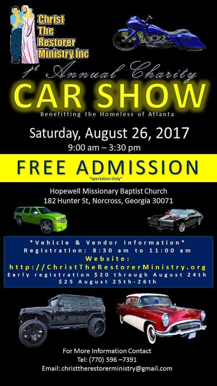 Christ The Restorer Ministry Car Show