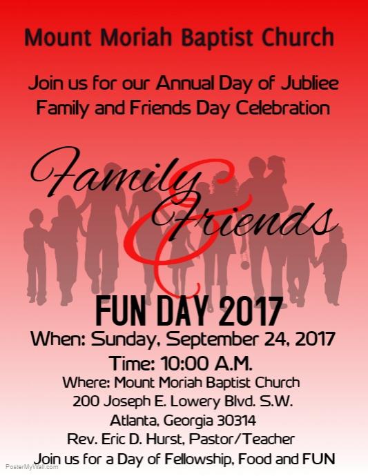 Mount Moriah Baptist Family Fun Day