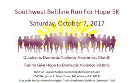 Southwest Beltline Run For Hope 5K