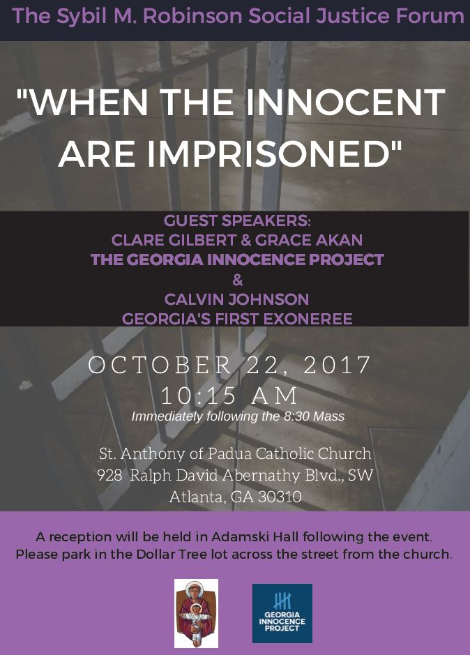 When The Innocent Are Imprisoned