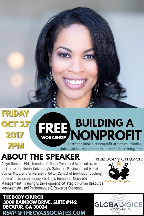 Building A Nonprofit